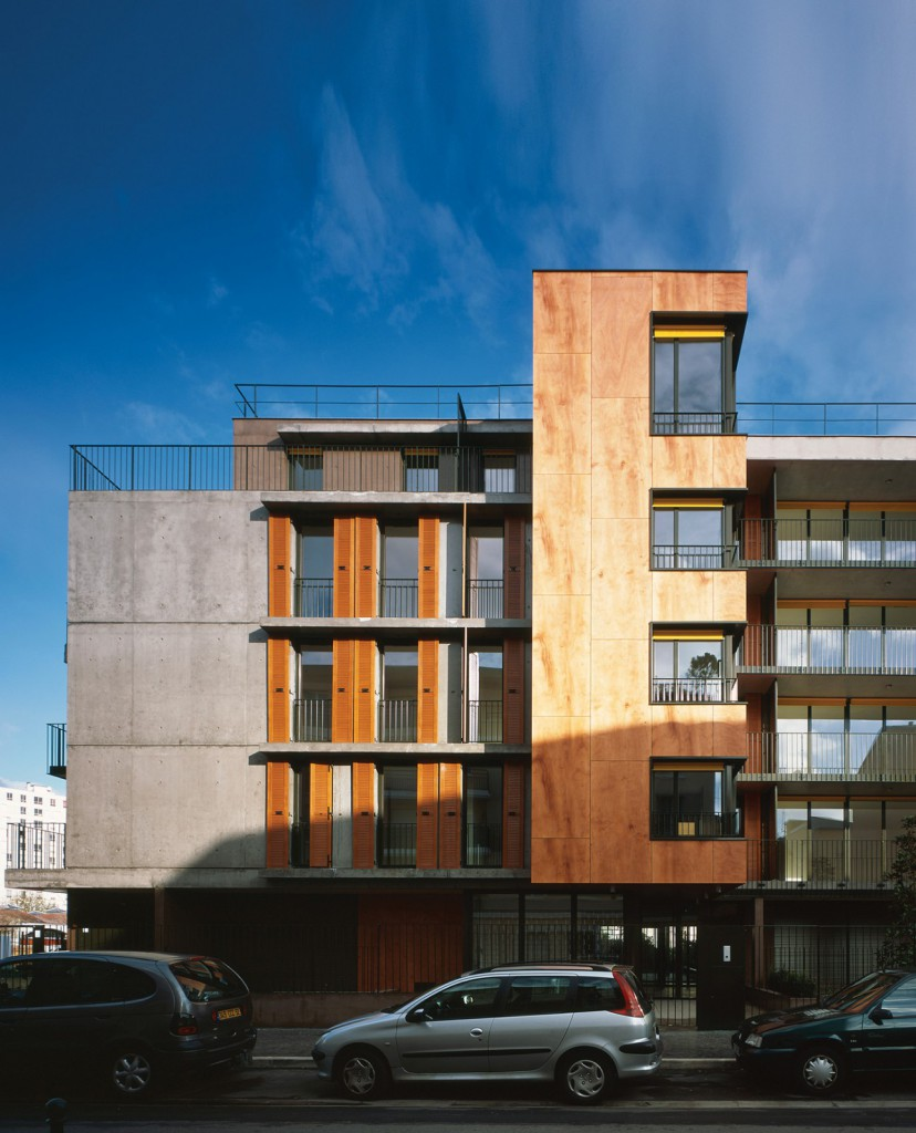 41 logements sociaux fabienne g rin jean architectes. Black Bedroom Furniture Sets. Home Design Ideas
